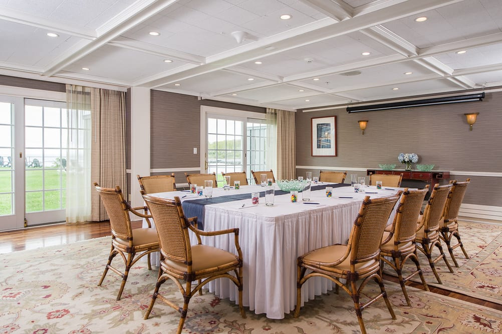 Ocean Point Room - Corporate Meeting & Event Space in York, Maine